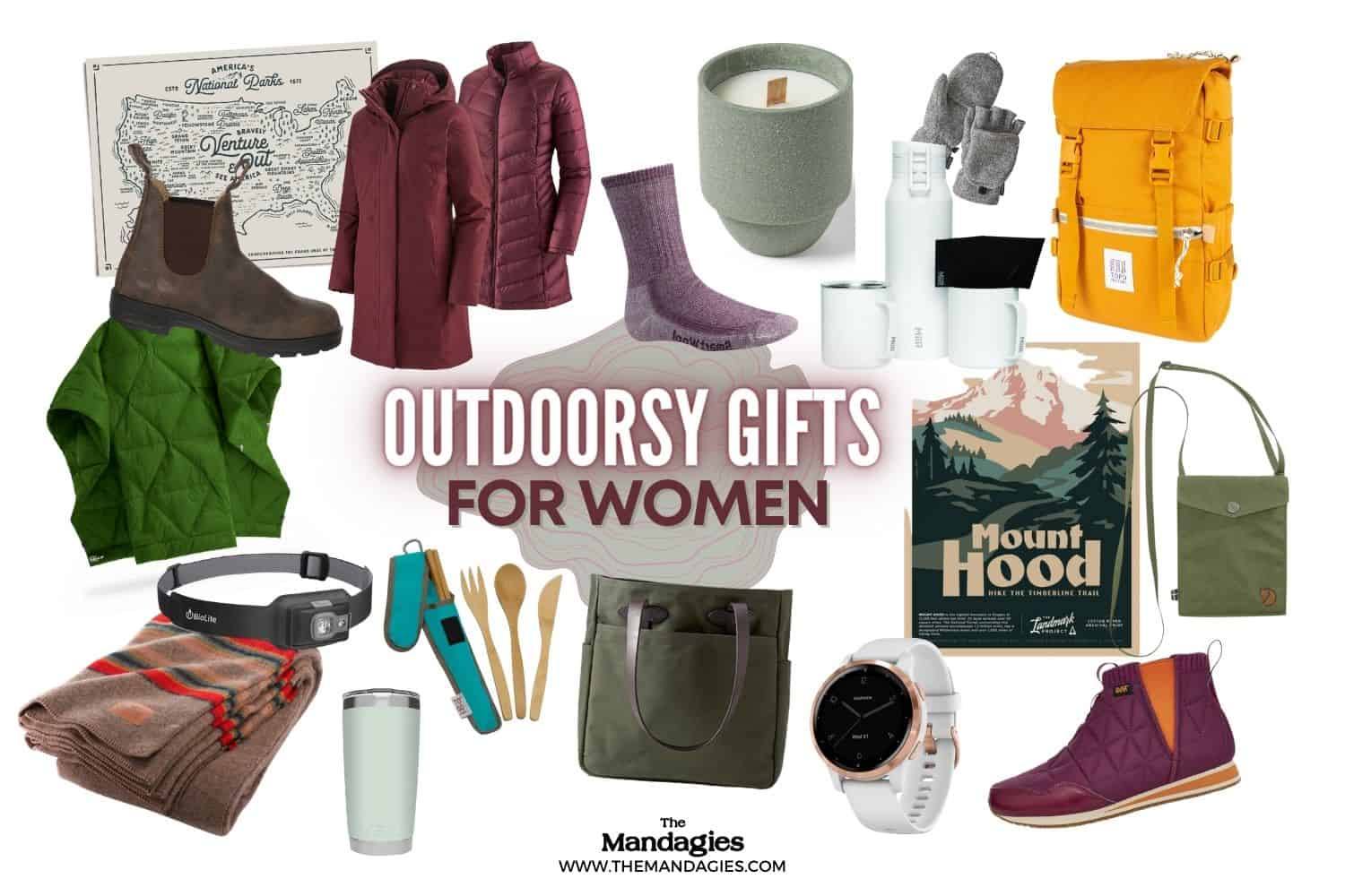 Outdoor Gifts For Women Banner