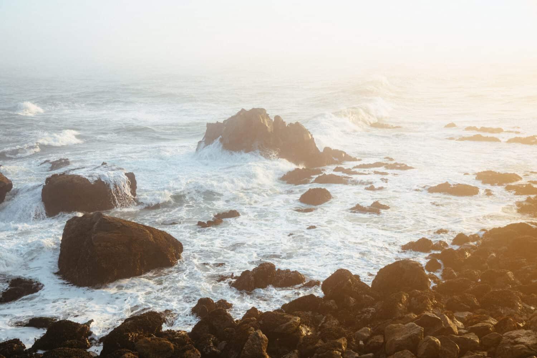 Mussel Rocks at Sunrise - Patricks Point