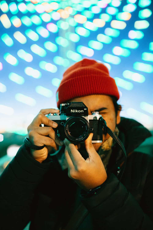 Berty Mandagie - Bestfilm cameras for street photography