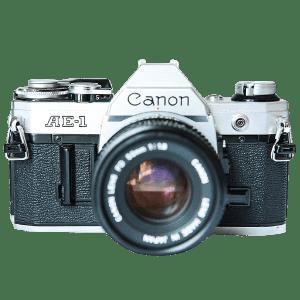 Canon AE-1 Program 35mm Film Camera