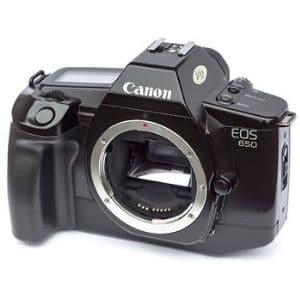 Canon EOS 650 Affordable Film Cameras