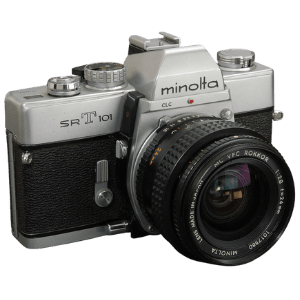 Minolta SRT-101 Best Starter Film Camera