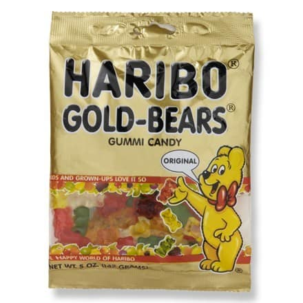 Haribo Gummy Bears Hiking Snacks Ideas