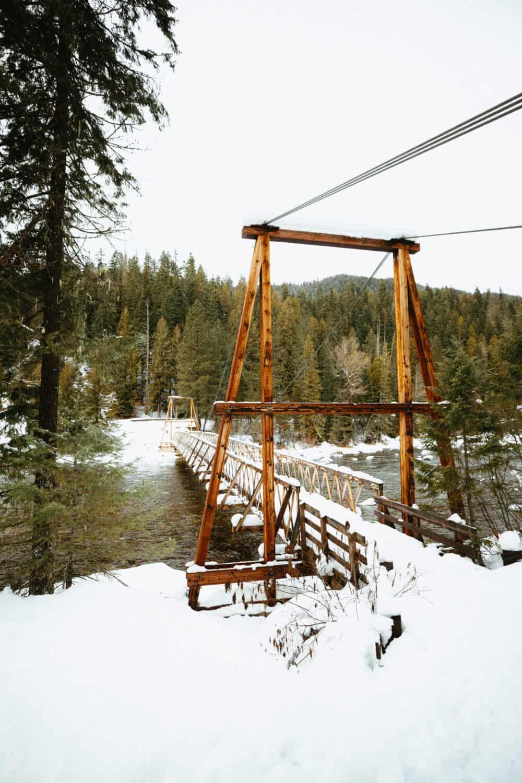 Warm Springs Trail Pack Bridge