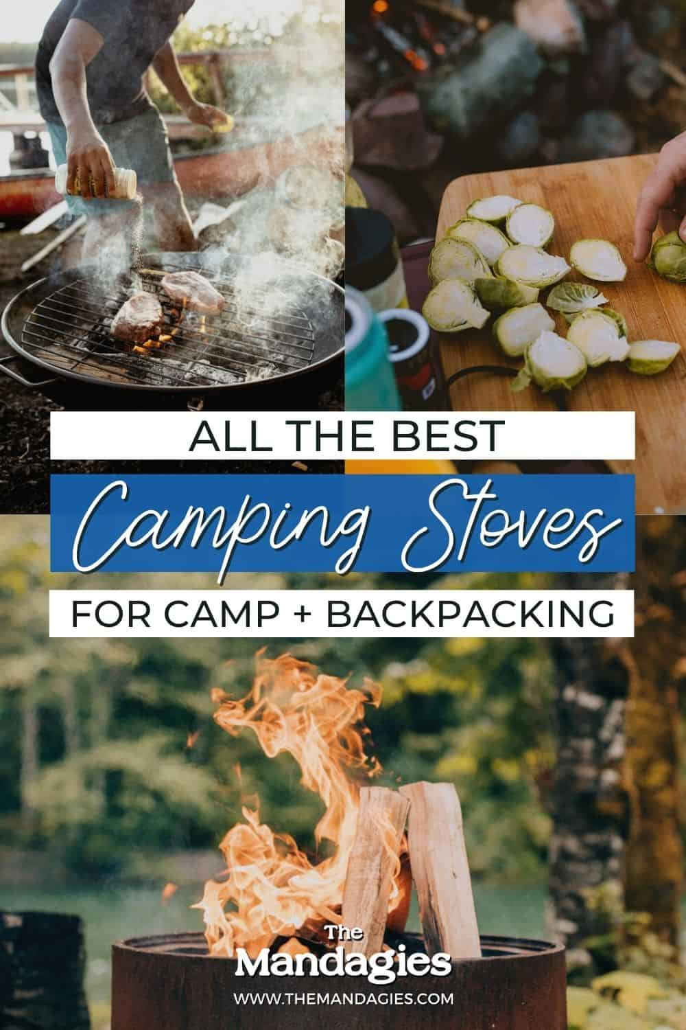 All the Best Camping Stoves For Car Camping and Backpacking #camping #campingreviews #stoves #cooking