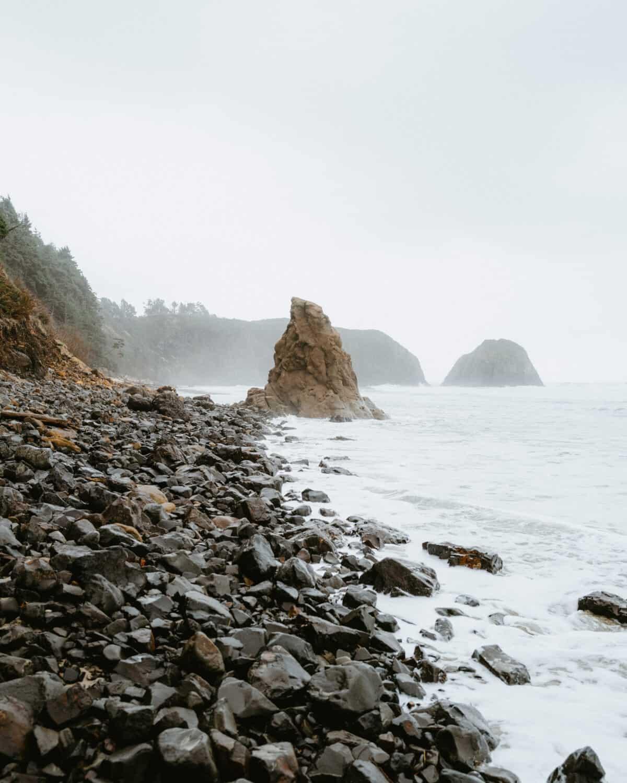 Sea stacks near Cannon Beach