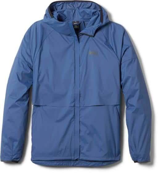 Affordable Windbreaker Jacket for Women - Blue