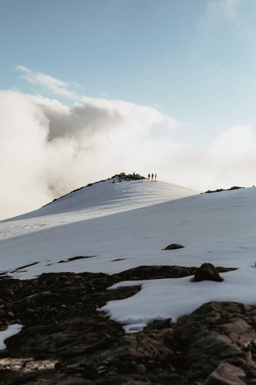 Sahale Glacier Camp in July