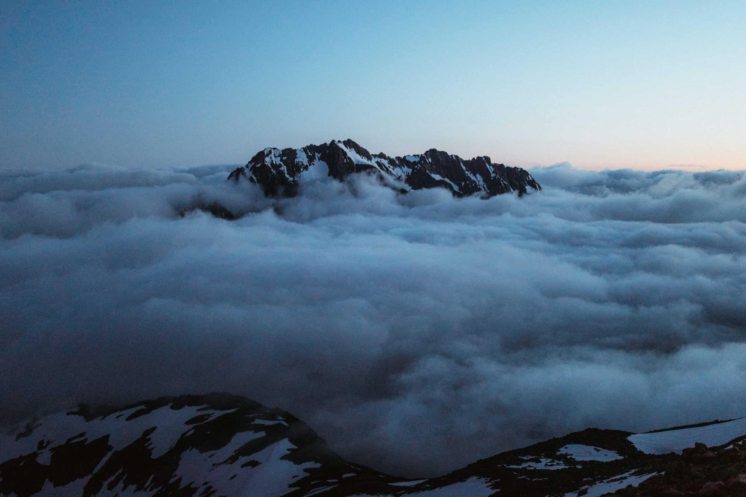 Cloud inversion in Washington State