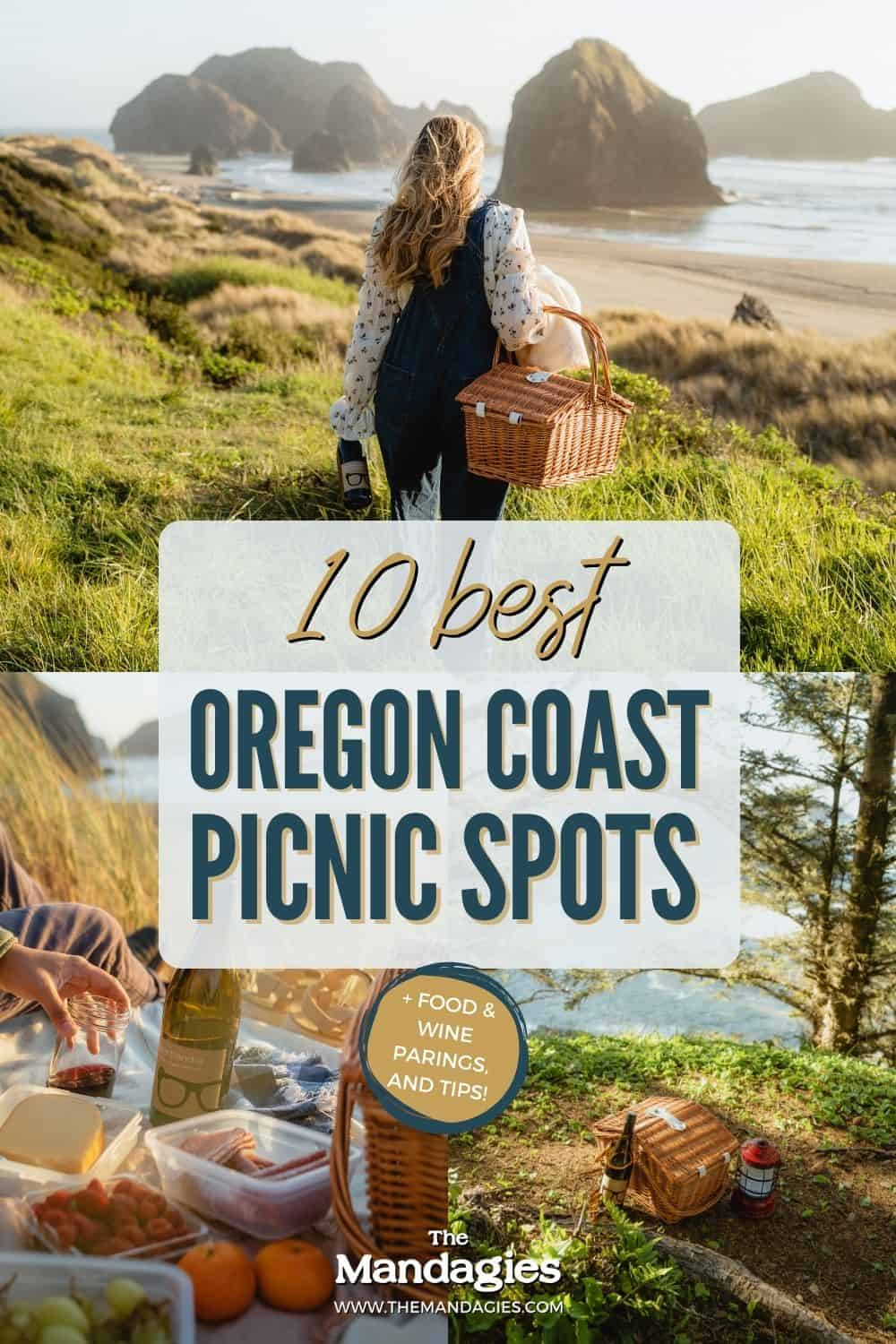Picnics are a perfect way to celebrate springtime in the Pacific Northwest. Click this post to discover all the best Oregon coast picnic spots!