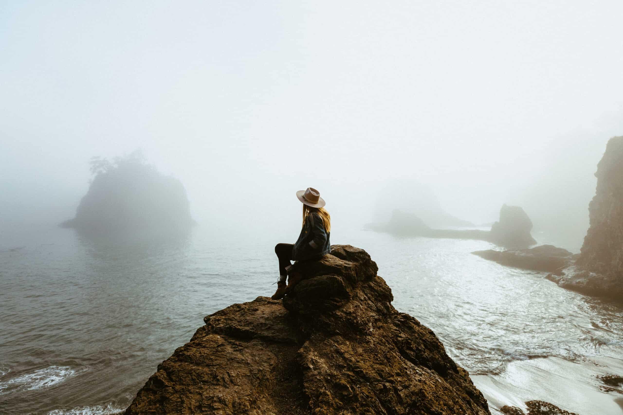 How To Reach Secret Beach On The Oregon Coast