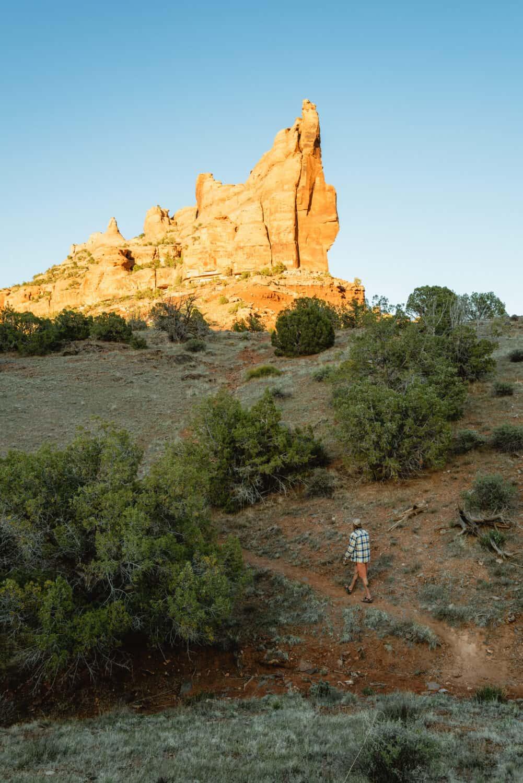 Hiking around Westwater Canyon in Utah