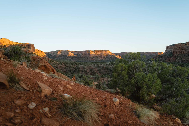 Hikes around Westwater Canyon in Utah