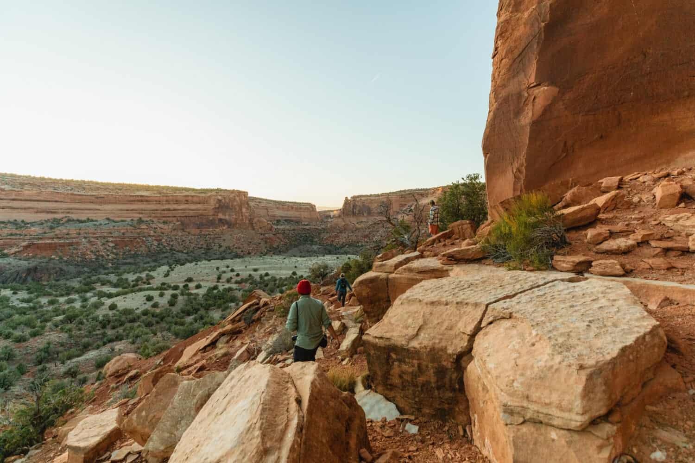 Hiking around Westwater Canyon