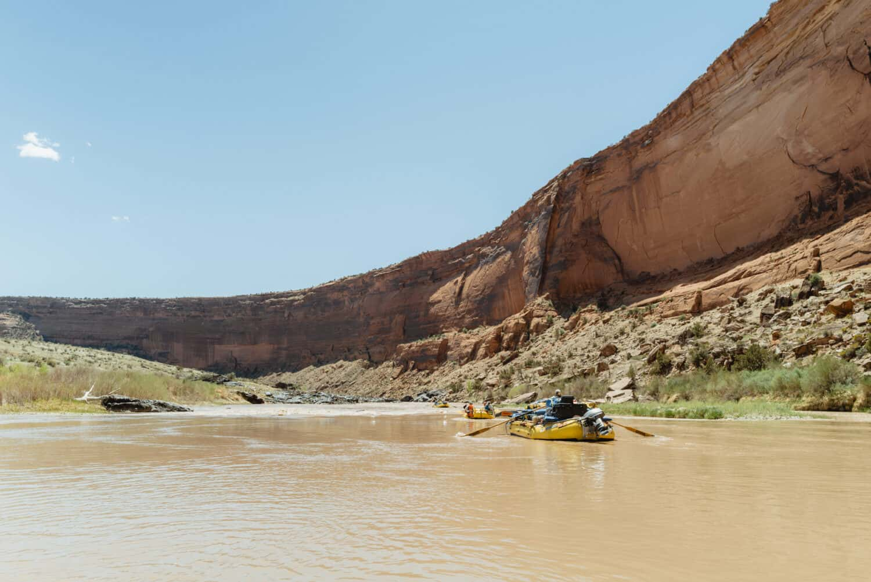 Westerwater Canyon rafting