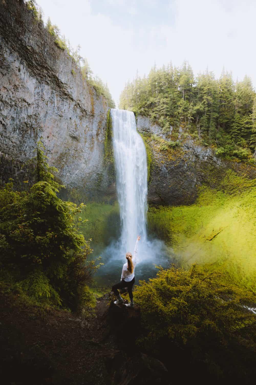 Second Tallest Oregon Waterfall - Salt Creek Falls