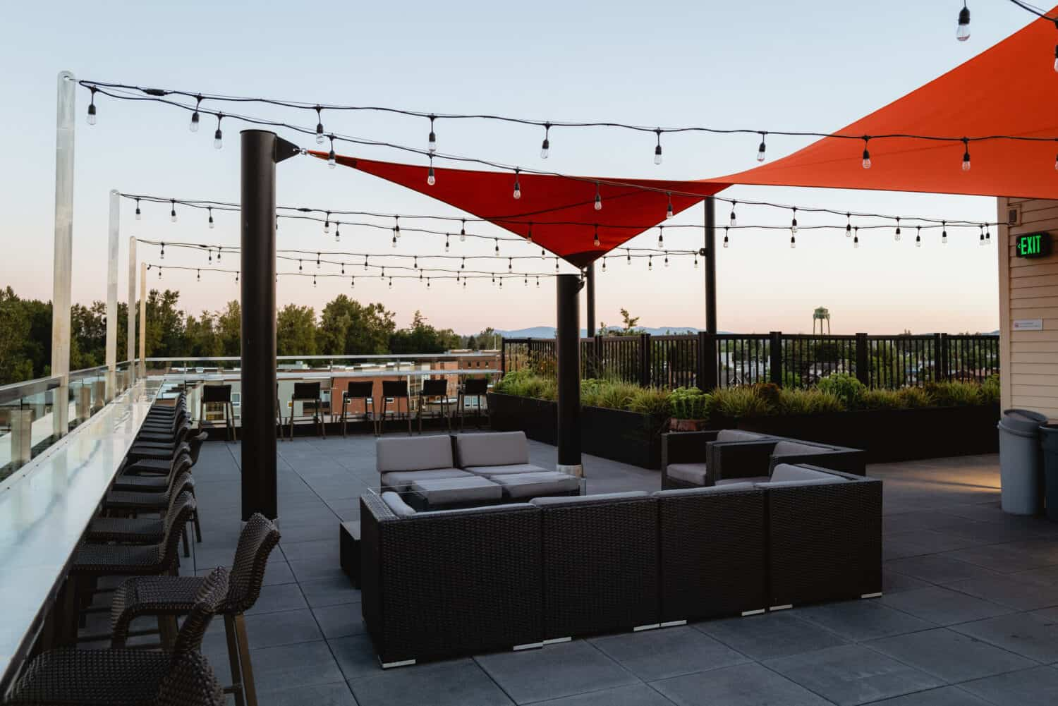 The Independence Hotel Rooftop Deck