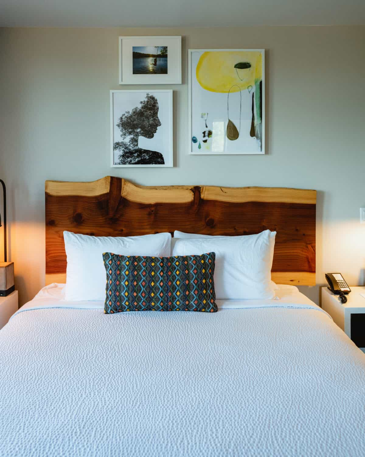 Inside suite of Independence Hotel on a Willamette Valley itinerary