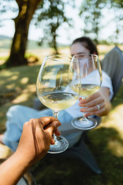 Wine Tasting at Johan Vineyards - Willamette Valley Weekend Itinerary