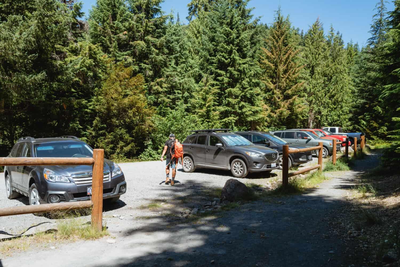 Marion Falls Oregon Trail Parking Lot