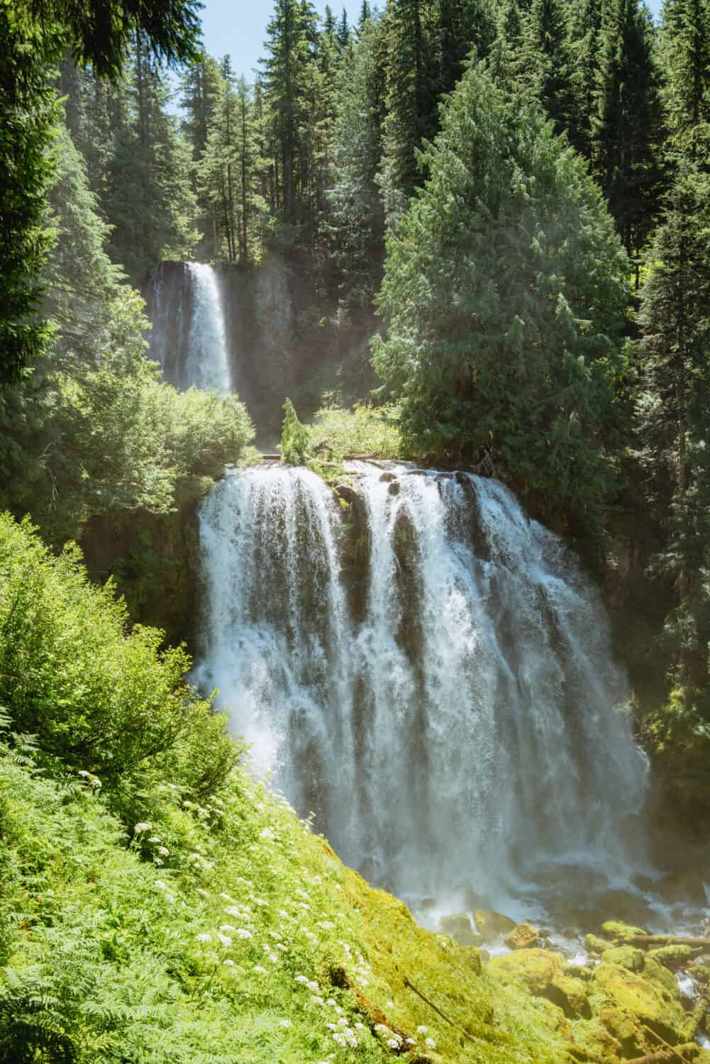 Waterfalls Near Sisters Oregon - Marion and Gatch Falls