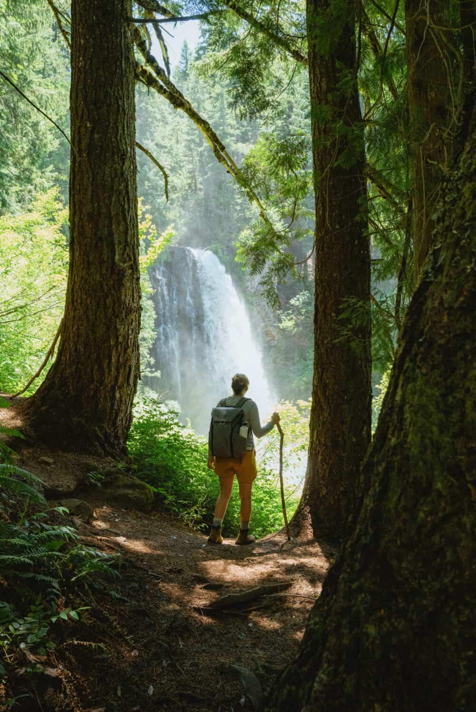 Hidden Waterfalls in Oregon - Marion Falls