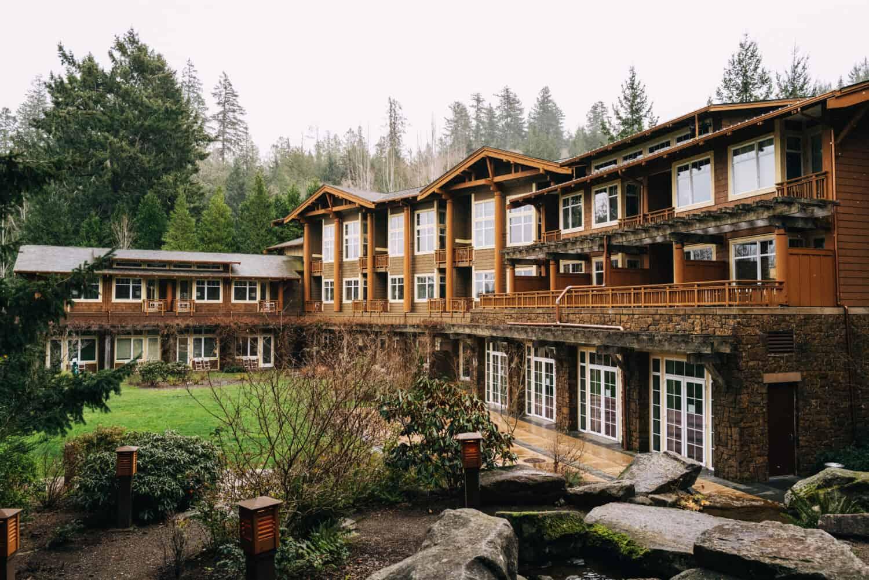 Romantic Weekend Trips From Portland Oregon - Alderbrook Resort Washington