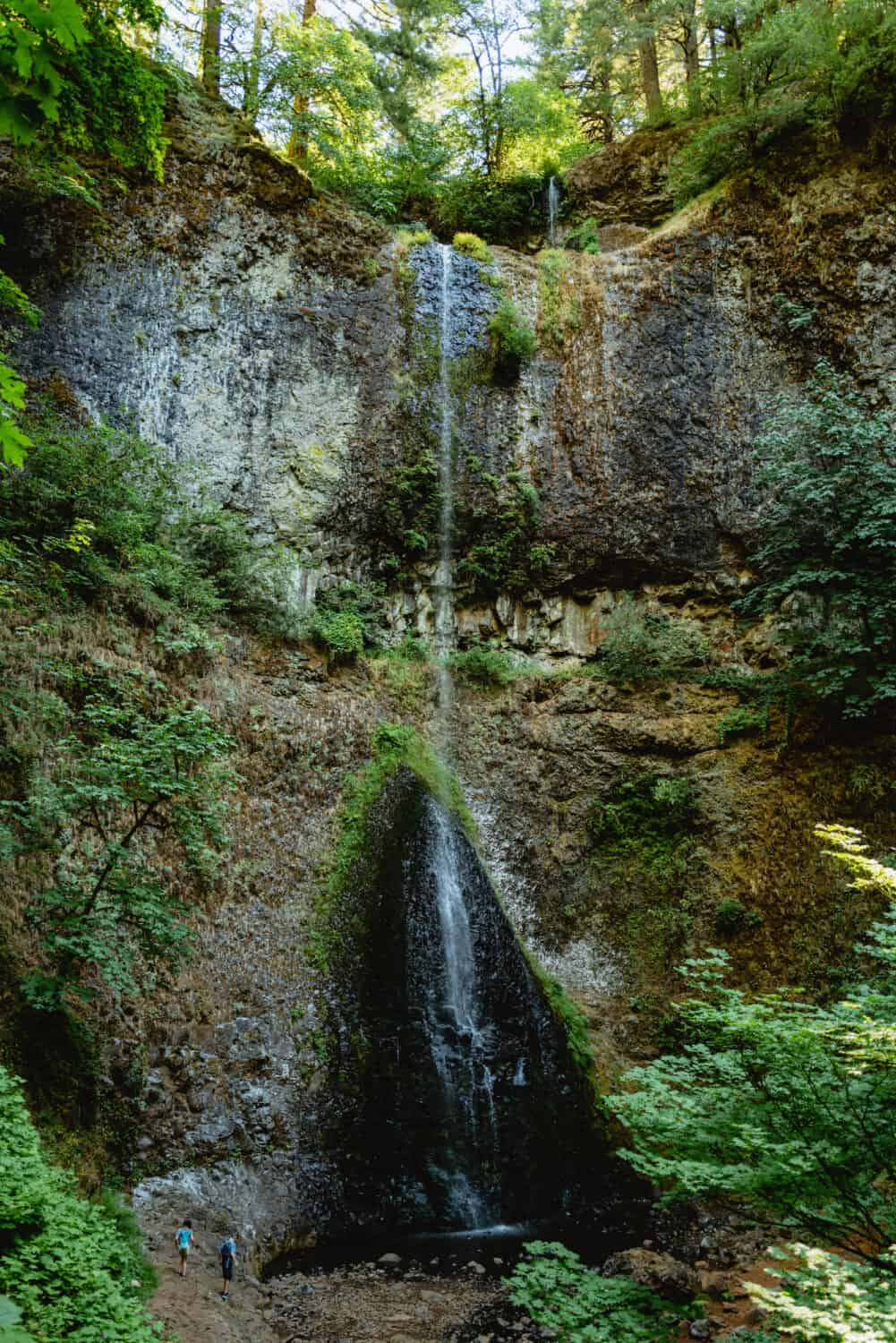 Double Falls on the Trail of Ten Falls